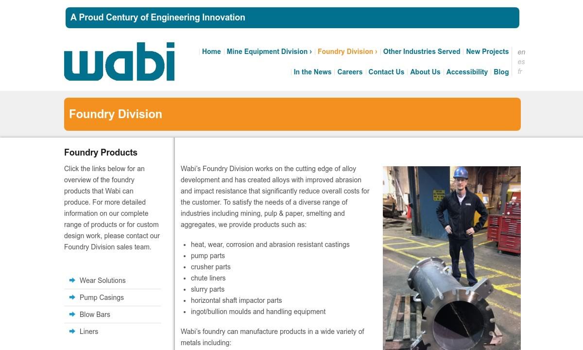 Wabi Iron & Steel Corp.