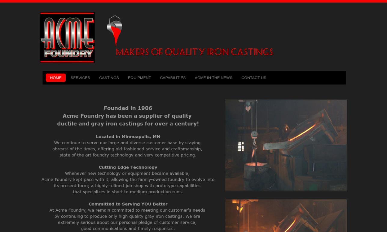 Acme Foundry Company