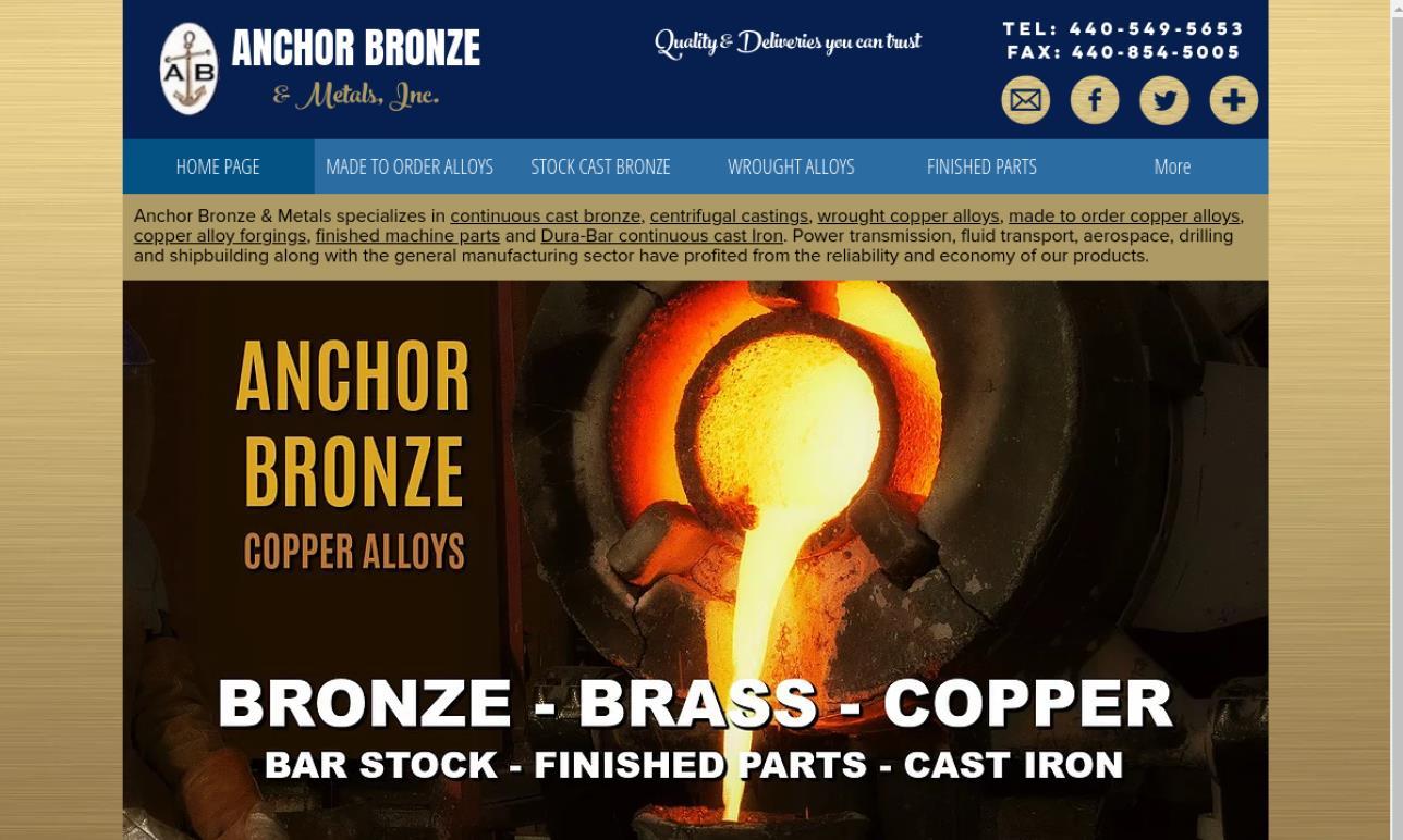 Anchor Bronze & Metals, Inc