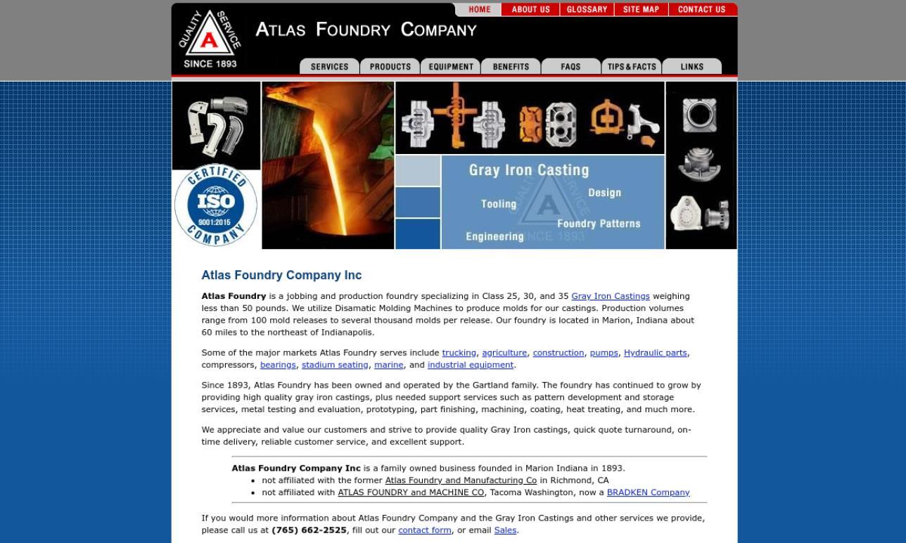 Atlas Foundry Company Inc.