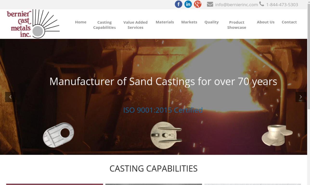 Bernier Cast Metals Inc.