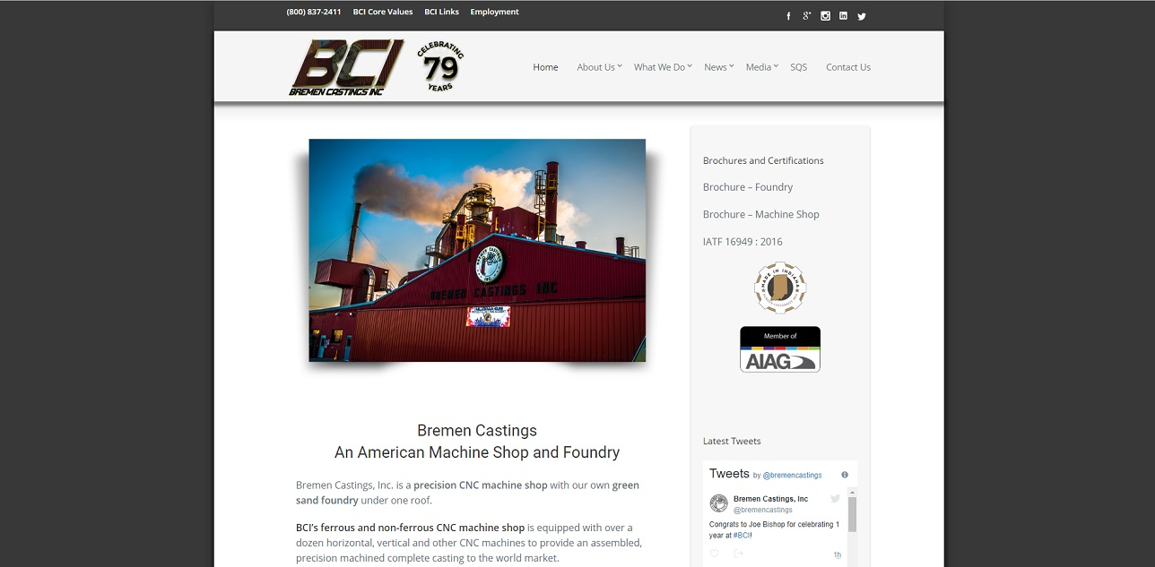Bremen Castings Inc.