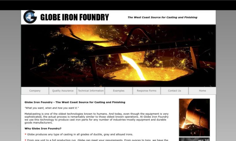 Globe Iron Foundry Inc.