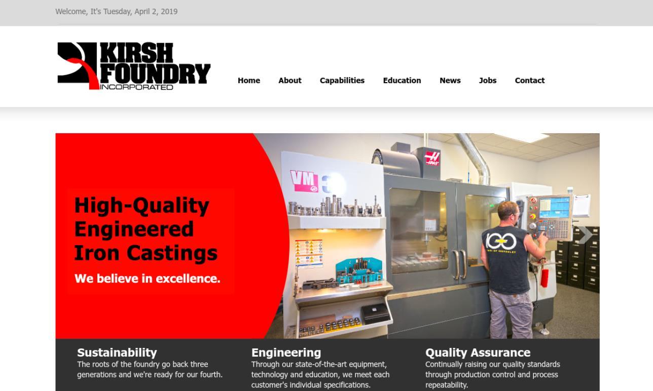 Kirsh Foundry, Inc.