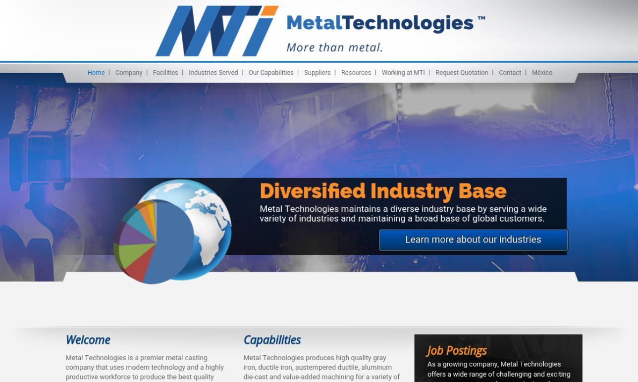 Metal Technologies, Inc.