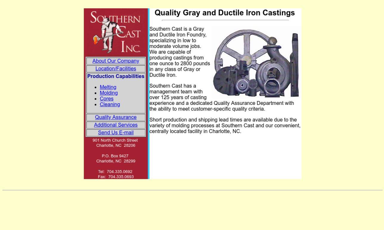 Southern Cast, Inc.