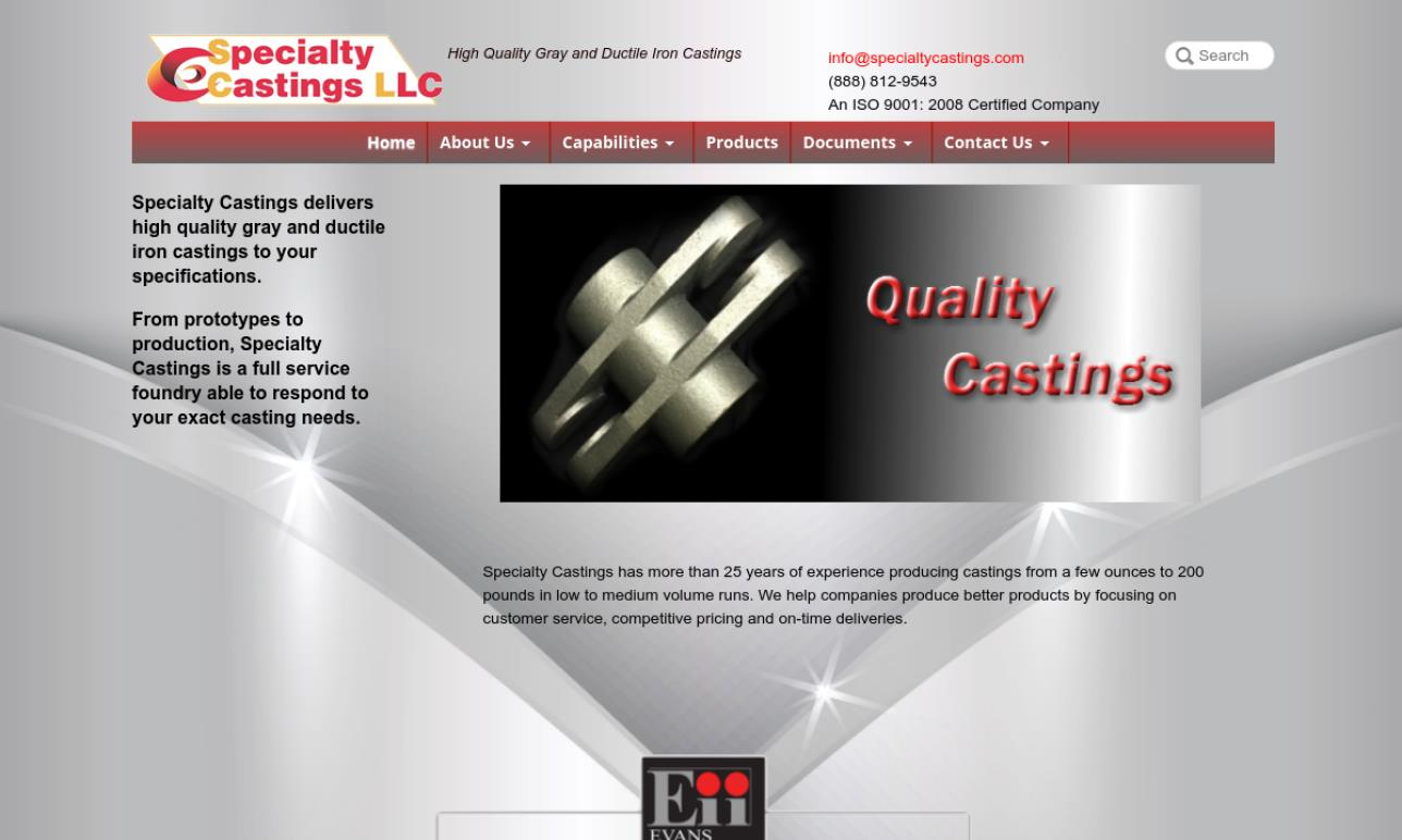 Specialty Castings, Inc.