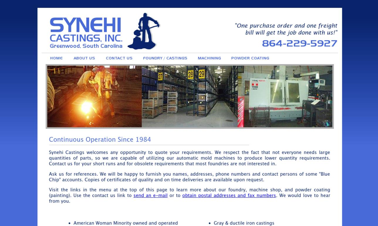 Synehi Castings, Inc.