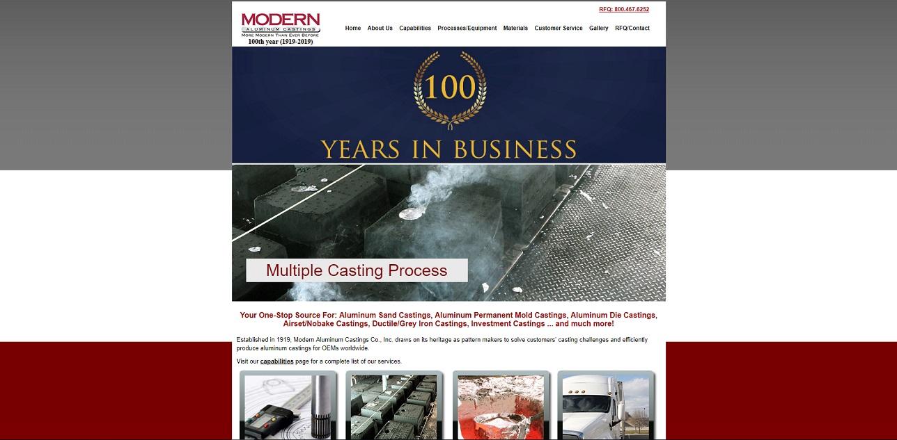 Modern Aluminum Castings Co., Inc.