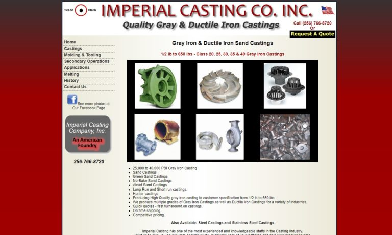 Imperial Casting Company, Inc.