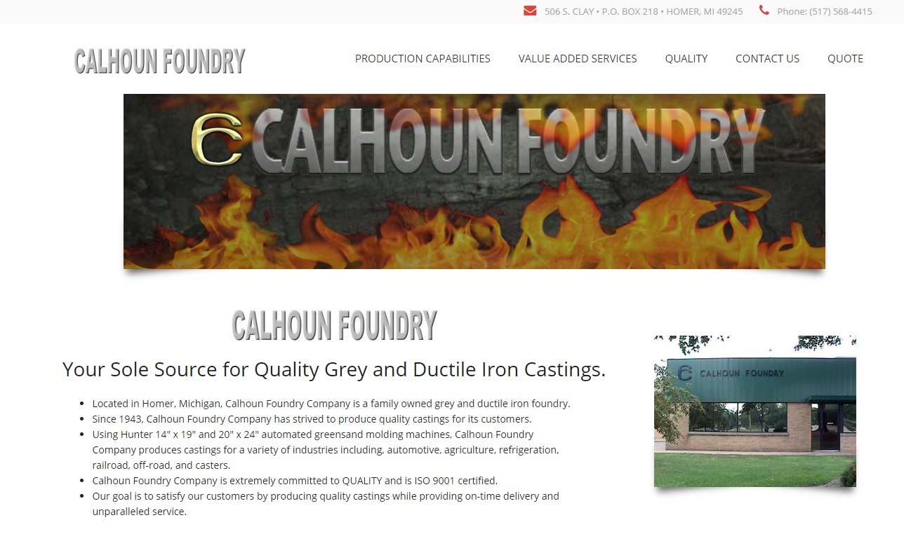 Calhoun Foundry Corporation
