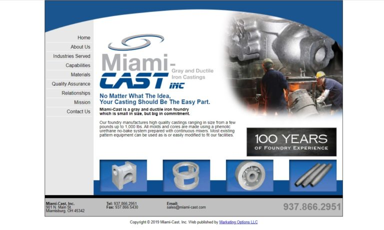 Miami-Cast, Inc.